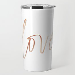 Your Love is Gold Travel Mug
