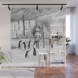 Antarctic explorer Wall Mural