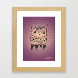 Jelly Fox Framed Art Print
