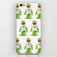 kermit iPhone & iPod Skins featuring Kermit by MrWhite