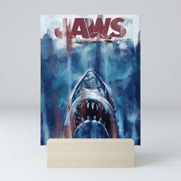 Jaws Mini Art Print