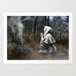 The Cauldron Art Print