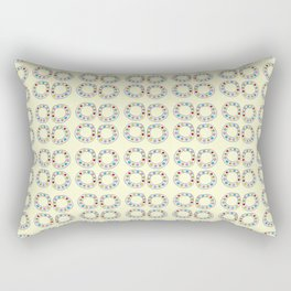 Circle and abstraction 8-abstraction,abstract,geometric,geometrical,pattern,circle,sphere Rectangular Pillow
