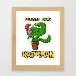 Plant Job Framed Art Print