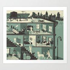 Pet Shenanigans! Art Print