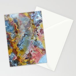Petrified wood texture Stationery Cards