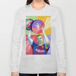 Iniesta Copa Del Rey Long Sleeve T-shirt