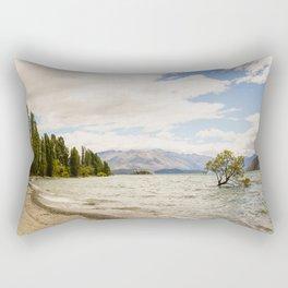 Lake Wanaka Tree Rectangular Pillow
