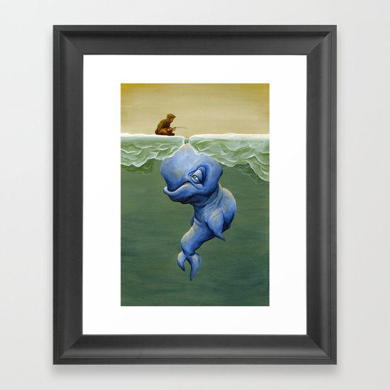 This One's About Greed Framed Art Print