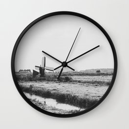 Wind Farm Wall Clock