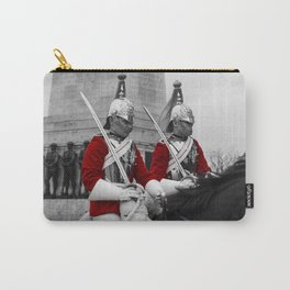 Household Cavalry Changing Of The Guard Carry-All Pouch
