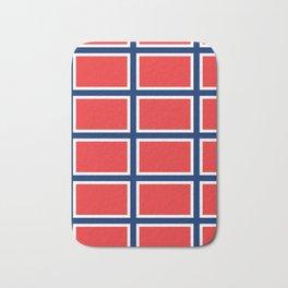 flag of norway Bath Mat