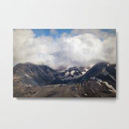 Mount St Helens lava dome souvenir Metal Print