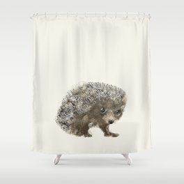 Little Hedgehog Shower Curtain