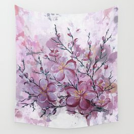 pink shadow Wall Tapestry