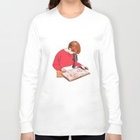 science Long Sleeve T-shirts featuring Science! by Salgood Sam