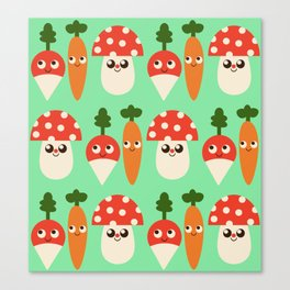 Veggie Patch Canvas Print