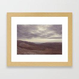 Cardrona Valley Framed Art Print