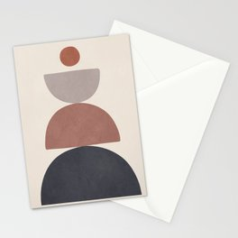 Balancing Elements III Stationery Cards