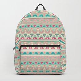 Ethnic , ornament , tribal , pastel Backpack