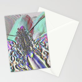 Multichrome Butterfly Stationery Cards