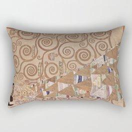 Gustav Klimt - The Expectation Rectangular Pillow