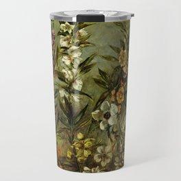"Eugène Delacroix "" Étude d'asters et balsamine"" Travel Mug"