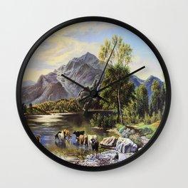 Pasture Wall Clock