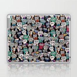 Gemstone Owls Laptop & iPad Skin
