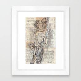 Someone I can kiss Framed Art Print