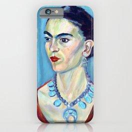 Portrait of Frida Kahlo iPhone Case