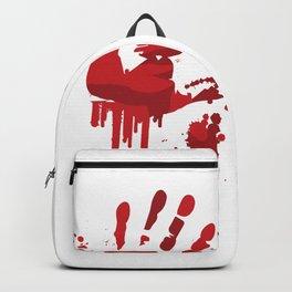 Blood Steins Halloween Backpack