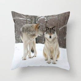 I've heard it all before Throw Pillow