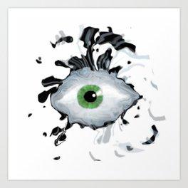 Wild Eyed Art Print