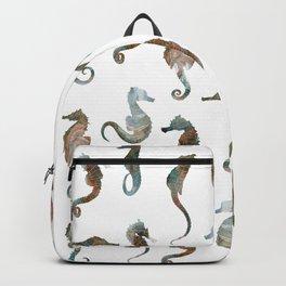 Sea Horses Patten Backpack