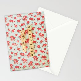 Choose Happiness Stationery Cards