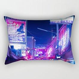 Bangkok Lights Rectangular Pillow
