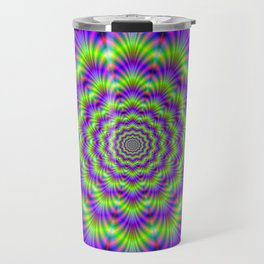 Crinkle Cut Rings Travel Mug