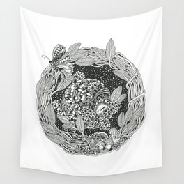 Pangolin's Dream Wall Tapestry