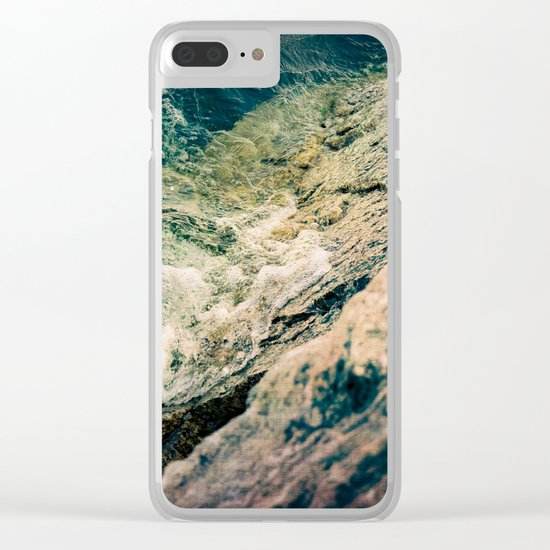 Relentless Clear iPhone Case