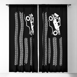 American Off Road 4x4 Overland Flag Blackout Curtain