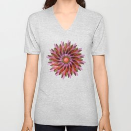 Falling Bloom Unisex V-Neck