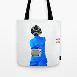 Statue Life TV · Blue Sunday Tote Bag