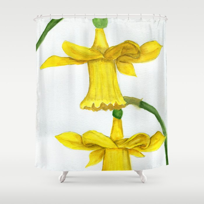 Dance and Twirl Shower Curtain