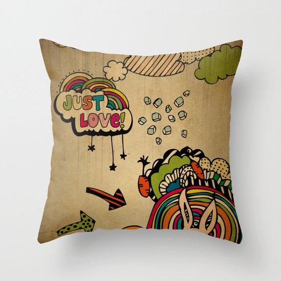 Just Love! Throw Pillow