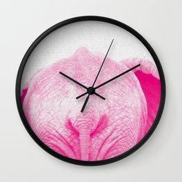 Elephant 01 Wall Clock