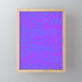 color waves 2 Framed Mini Art Print