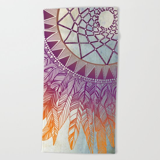 dreamcatcher: mining for the meaning Beach Towel