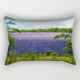 Summertime Lavender Rectangular Pillow