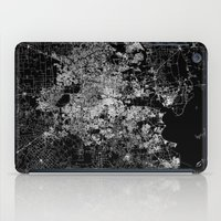 houston iPad Cases featuring Houston map by Line Line Lines